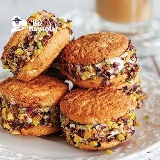 dondurmali biskuvi