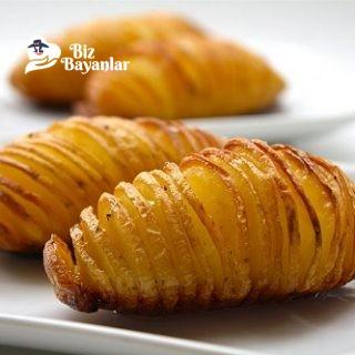 firinda patates kizartmasi