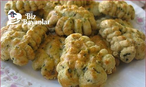 Ispanakli tuzlu kurabiye