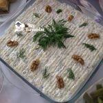 cevizli kabak salatasi