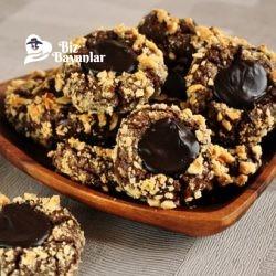 cikolatali kurabiye tarifi