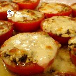 fırında peynirli domates tarifi