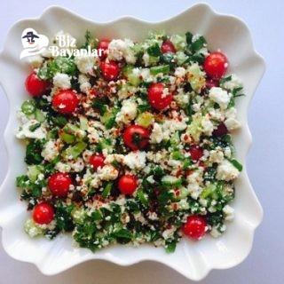 kahvaltilik lor salatasi tarifi