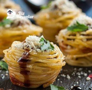 muffin makarna tarifi