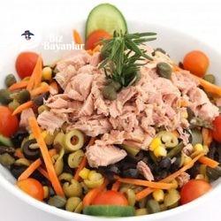 ton balikli salata tarifi