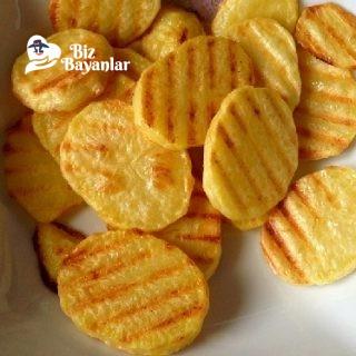 tost makinesinde patates cipsi tarifi