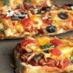 bayat ekmek pizzas tarifi