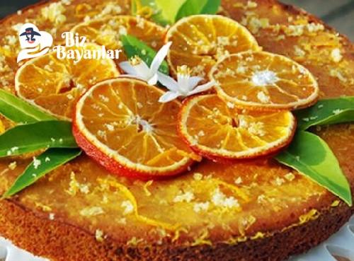portakalli islak kek