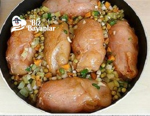 sebzeli tavuk dolmasi 5