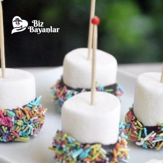 cikolatali marshmallow