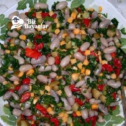 barbunya salatasi tarifi