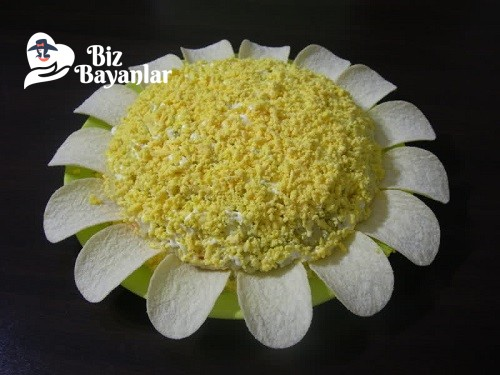 mimoza salatasi tarifi