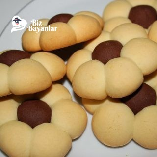cicek kurabiye tarifi