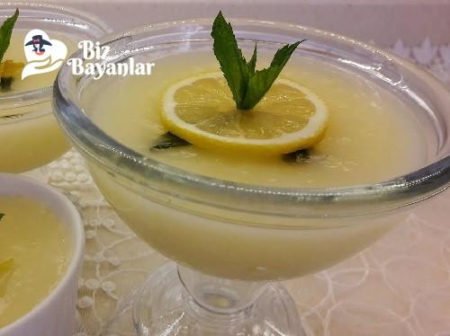 limonlu pelte tarifi
