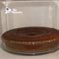 mikrodalgada islak kek tarifi