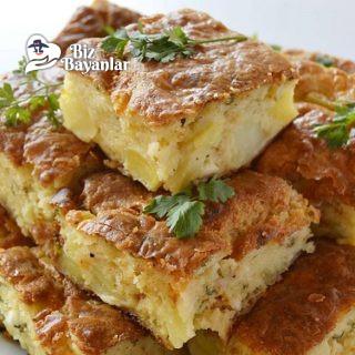 peynirli patatesli kek tarifi