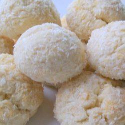 hindistan cevizli top kurabiye
